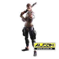 Figur: Final Fantasy 12 - Balthier (28 cm) - Play Arts Kai