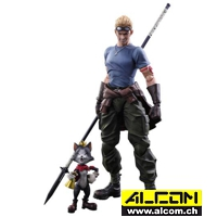 Figur: Final Fantasy 7 - Advent Children - Cid Highwind (27 cm) Square Enix