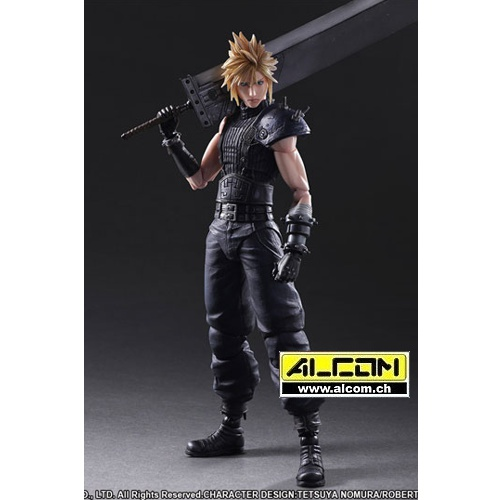 Figur: Final Fantasy 7 Remake - Cloud Strife (28 cm) - Square Enix