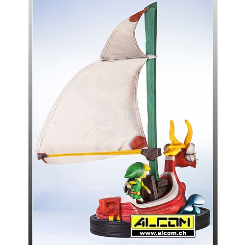 Figur: The Legend of Zelda - The Wind Waker, Link on the King of Red Lions
