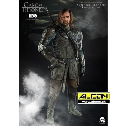 Figur: Game of Thrones - Sandor Clegane, der Bluthund (33 cm) ThreeZero