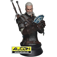 Büste: The Witcher 3 Wild Hunt - Geralt playing Gwent (23 cm) Dark Horse