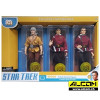 Figurenset: Star Trek 3er-Pack, Kirk + Spock + Khan (20 cm)