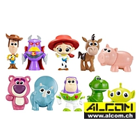 Figurenset: Toy Story, 10 Figuren (jeweils ca. 4 cm)