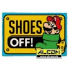 Fussmatte: Super Mario Shoes Off (40 x 60 cm)