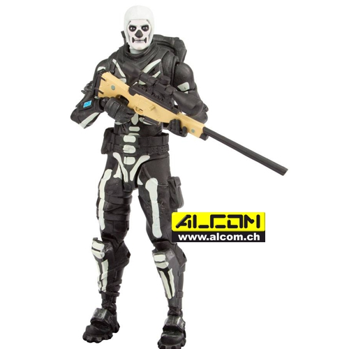 Figur: Fortnite - Skull Trooper (18 cm)