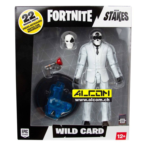 Figur: Fortnite - Wild Card Black (18 cm)