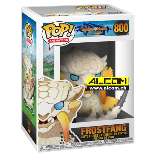 Figur: Funko POP! Monster Hunter - Frostfang (9 cm)