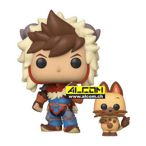 Figur: Funko POP! Monster Hunter - Lute & Navirou (9 cm)