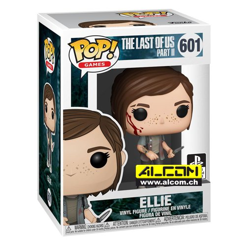 Figur: Funko POP! The Last of Us - Ellie (9 cm)