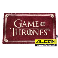 Fussmatte: Game of Thrones - Logo (43 x 72 cm)