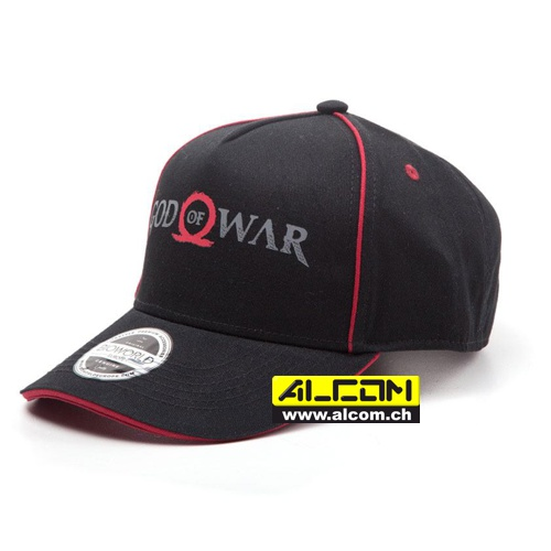 Cap: God of War, schwarz (Baseball Cap)
