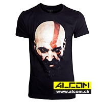 T-Shirt: God of War - Kratos Face