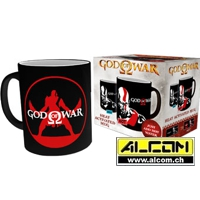 Tasse: God of War (mit Thermoeffekt)
