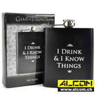 Flachmann: Game of Thrones - I drink & I know Things