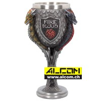 Kelch: Game of Thrones - Targaryen (18 cm)