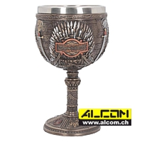 Kelch: Game of Thrones - Iron Throne (17 cm)