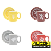 Espresso-Tassen-Set: Game of Thrones - Logos