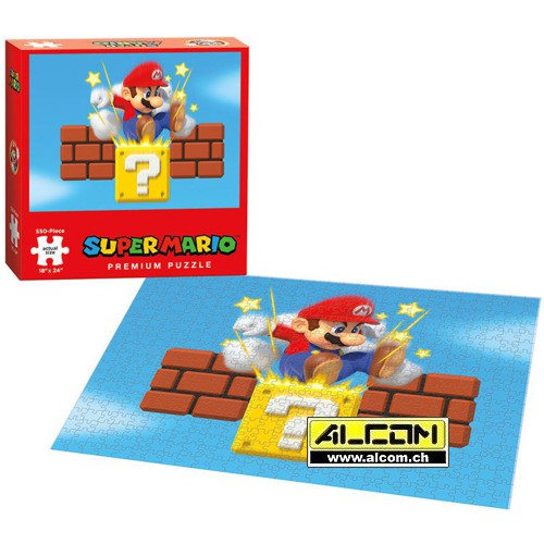 Puzzle: Super Mario Bros. Ground Pound (550 Teile)