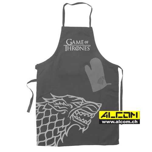 Kochschürze & Handschuh: Game of Thrones - Hear Me Roar House Stark