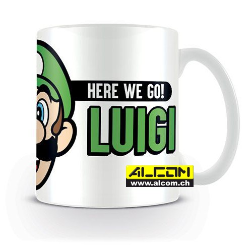 Tasse: Super Mario - Here We Go Luigi