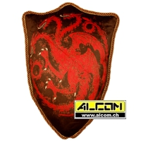 Kissen: Game of Thrones - Wappen Haus Targaryen (56 cm)