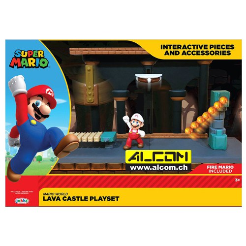 Spielset: World of Nintendo - Super Mario - Lavaschloss