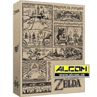 Puzzle: The Legend of Zelda - Legend of the Hero (1000 Teile)