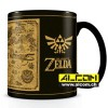 Tasse: The Legend of Zelda Map (mit Thermoeffekt)