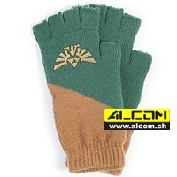 Handschuhe: The Legend of Zelda - Green Core (fingerlos)