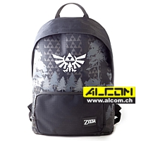 Rucksack: The Legend of Zelda - Black & White