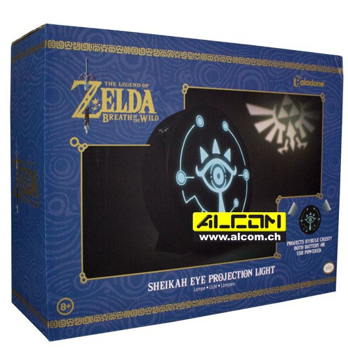 Lampe: The Legend of Zelda - Breath of the Wild Shiekah-Auge (20 cm)