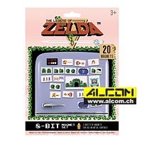 Magnete-Set: The Legend of Zelda - Retro (20 Magnete)
