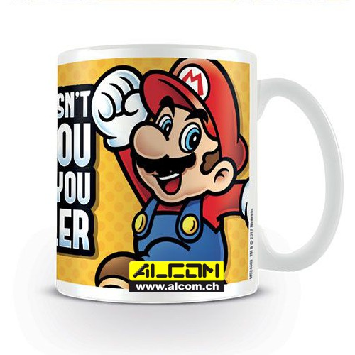 Tasse: Super Mario - What doesnt kill you makes you smaller