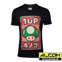 T-Shirt: Super Mario Propaganda Poster, 1-UP