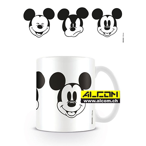 Tasse: Micky Maus - Faces