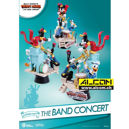Diorama: Micky Maus - The Band Concert (15 cm)