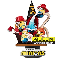 Diorama: Minions - Fire Fighter (15 cm)