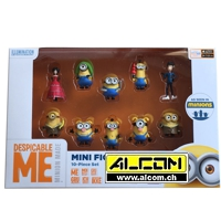 Figurenset: Minions 10er-Pack