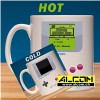 Tasse: Nintendo Game Boy - Super Mario Land (mit Thermoeffekt)