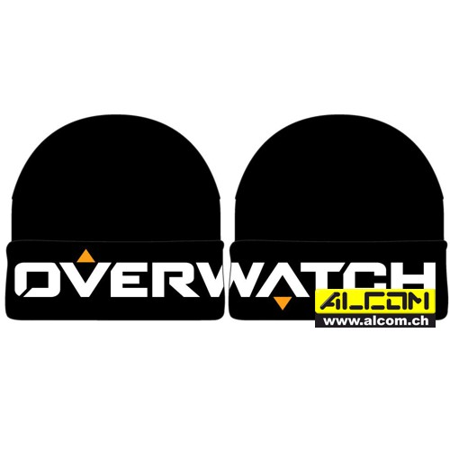 Skimütze: Overwatch - Black Knit Logo