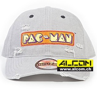 Cap: Pac-Man Logo Denim