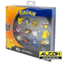 Figurenset: Pokemon 12er XL Multipack (12 Figuren x 3-5 cm)