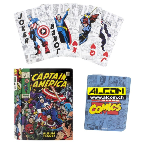 Spielkarten: Marvel Comics