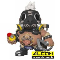 Figur: Funko POP! Overwatch - Roadhog oversized (15 cm)