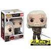 Figur: Funko POP! The Witcher - Geralt (9 cm)