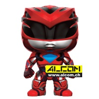 Figur: Funko POP! Power Rangers - Red Ranger (9 cm)