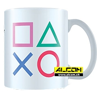 Tasse: Sony Playstation - Shapes