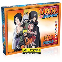 Puzzle: Naruto Shippuden - Characters (500 Teile)