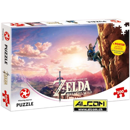 Puzzle: The Legend of Zelda - Breath of the Wild (500 Teile)